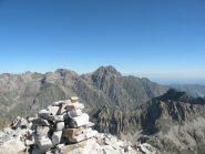 Il Monte Matto visto dalla Testa di Tablasses