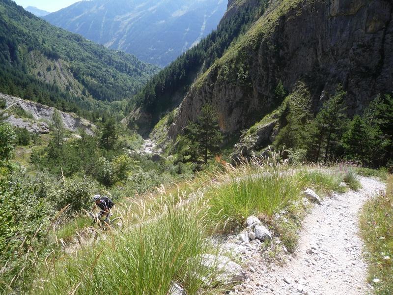 Bersaio (Monte) da Sambuco per Colle Salsas Blancias e Piconiera, discesa Vallone Bandia 2013-08-21
