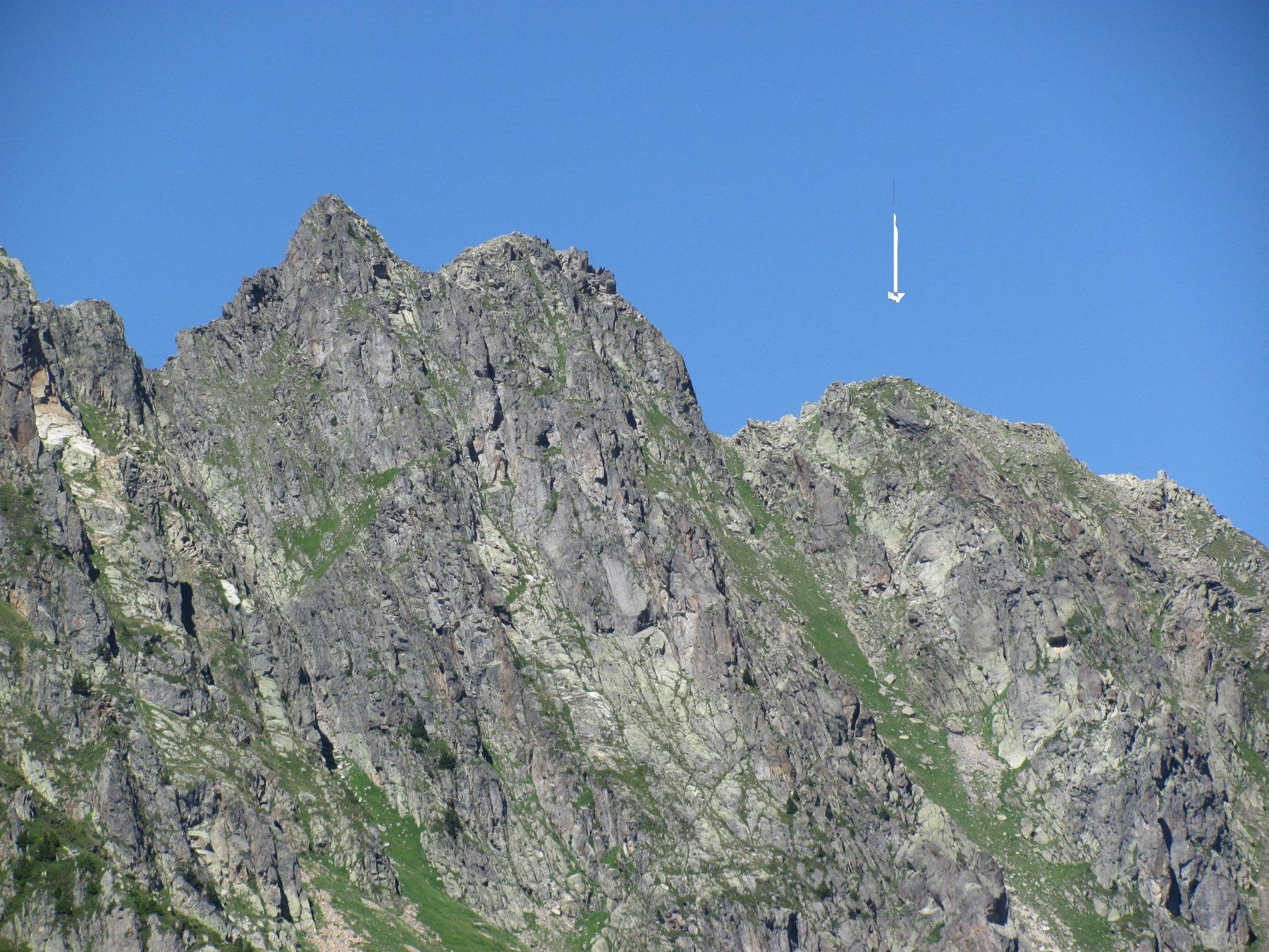 l'Aiguille de Charlanon, vista da Planpraz