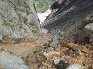 Il Canale Faller NE visto dal Colle