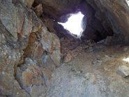Buco di Faller visto dalla Val Quarazza