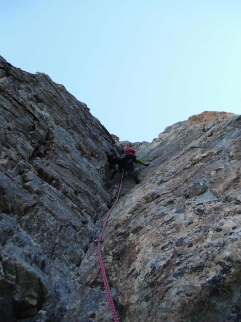 camino della tour grise, ottima roccia