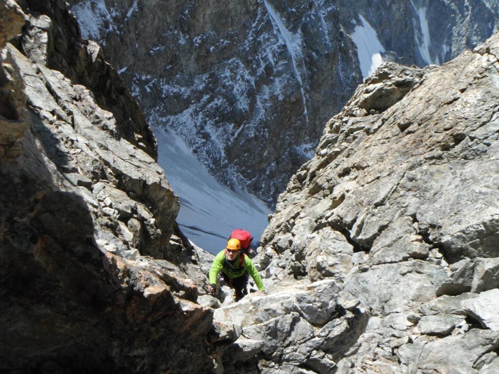 si scala sopra il Mayer Dibona
