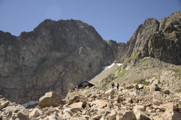Il rifugio Pagarì e la Maledia
