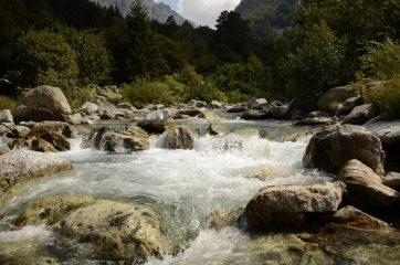 Il torrente Gesso a San Giacomo