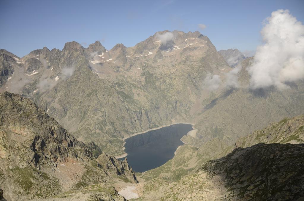 Argentera dalla punta Fenestrelle