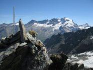 Percià sud e sfondo su Gran Paradiso