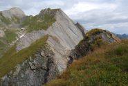 Il Creton du Midi visto dalla punta quota 2785 m