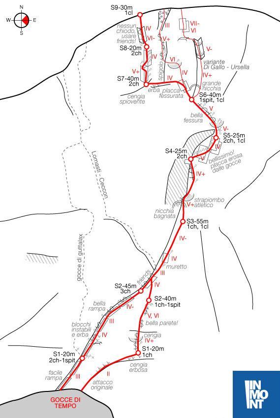 Cavallo di Pontebba (Monte) Gocce di tempo 2013-08-25