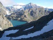 lago la Rossa e Ciamarella sullo sfondo