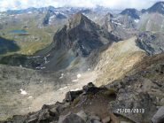 Dal Glacier, sullo sfondo il lago Miserin