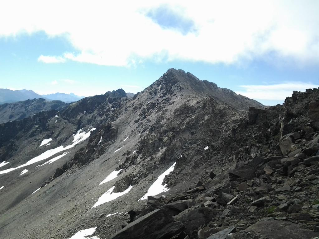 Gran Tempesta (Rocca della) da Grange di Valle Stretta per il Colle della Tempesta 2013-08-25