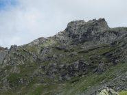 Punta Il Villano dal sentiero di salita