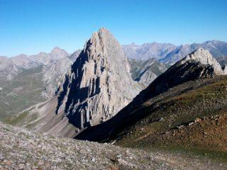 Rocca la Meja dalla cresta