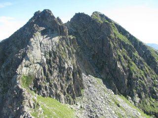 A destra il Monte dei Corni
