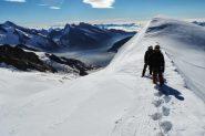 Enrico e Davide salgono verso la cima (31-8-2013)