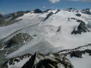 L'immenso ghiacciaio del Rutor