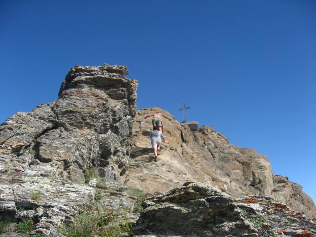 Mezzodì (Punta di) da Alpe Toglie per la Porta del Chiot e la crestone NNE 2013-08-31