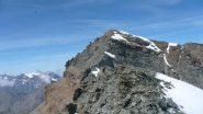 punta Bianca vista dalla cima della Nera