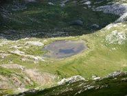 Il Lago Rataira  dal Colle del Pas