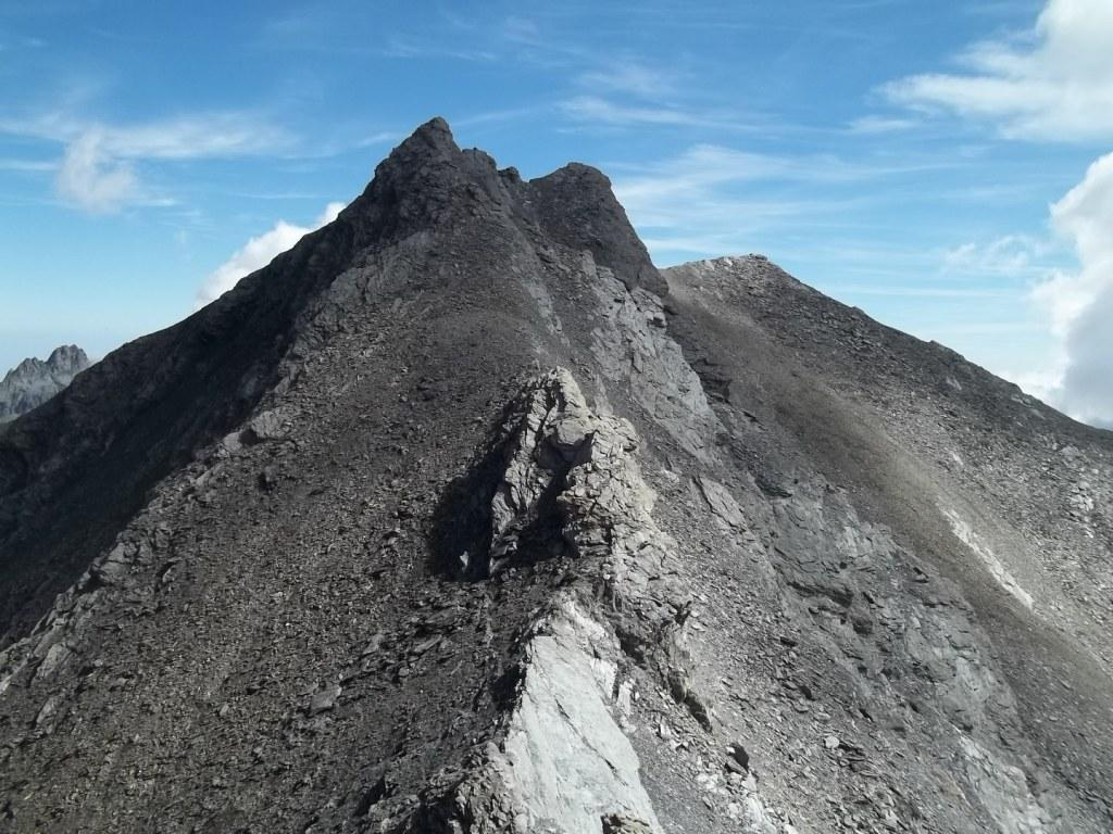 la bella cresta dell'Aiguillette