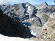 Il selvaggio vallone d' Ambin, dai pressi del colle Agnello