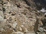passaggi alpinistici di 2+grado