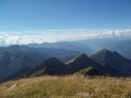Cresta Pizzo di Bronzo, Pizzo Cortefreddo, Pizzo dei Quattro Pilastri e Monte Larone