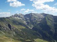 Da sx: Pizzo del Lago Gelato N e S, Pizzo Locciatenera e Pizzo d'Apteggia