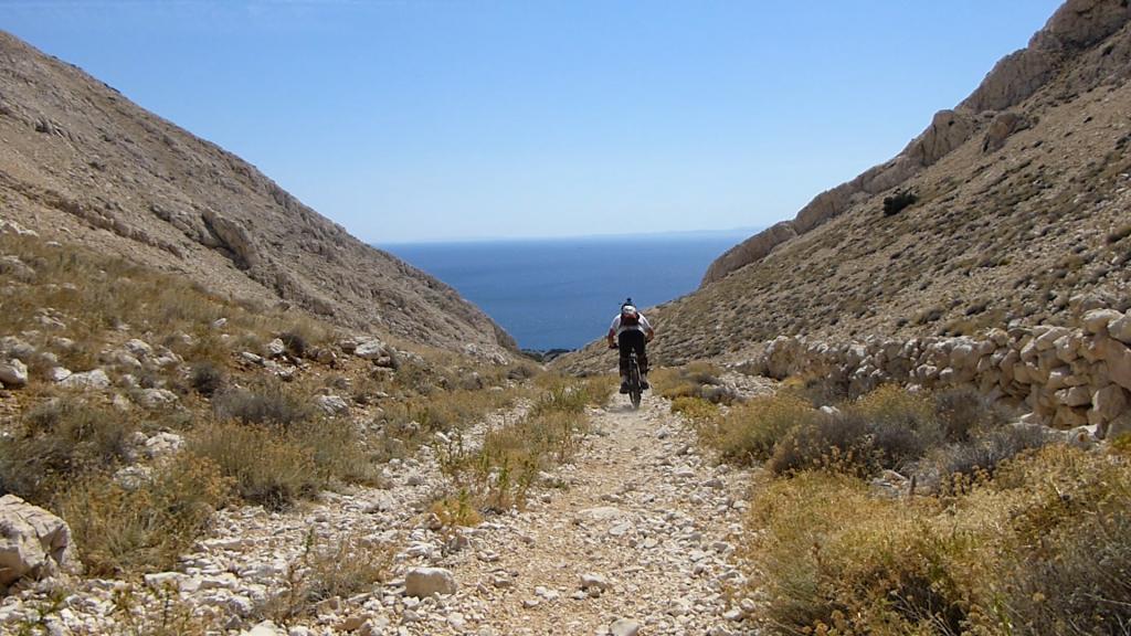 Obzovo Isola di KRK Croazia, da Punat a Stara Baska 2013-09-02