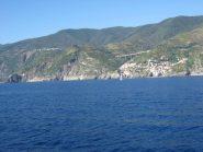 arrivo a Monterosso via mare