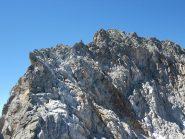 La cresta est della cima Chafrion