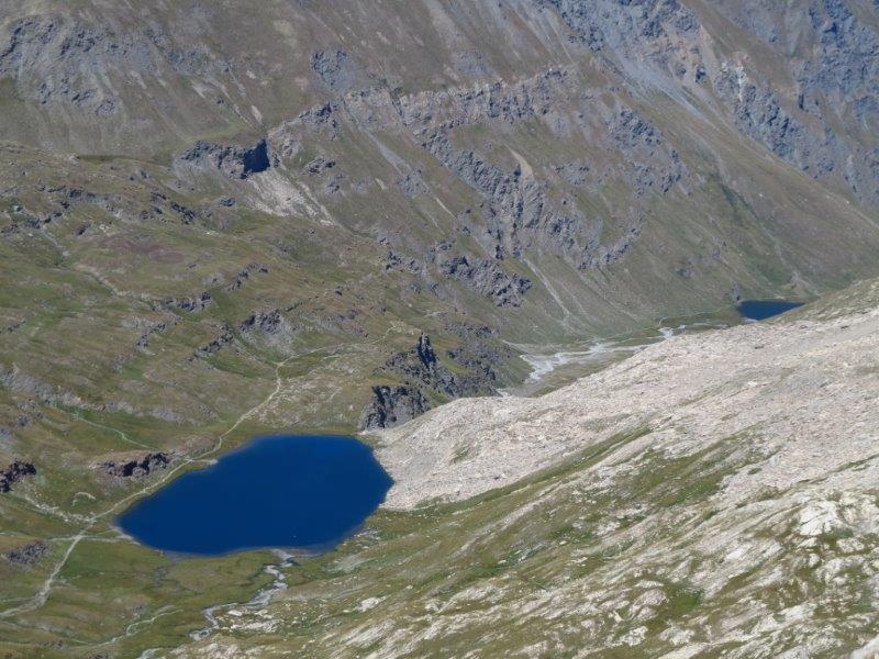I laghi del vallone di Bouchose