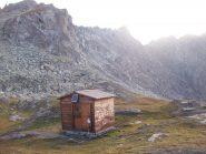 Bivacco al Col Clapis 2756m