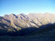 La Valle Argentera dal colle