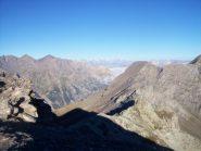 Da cima Appenna: Col Clapis e Val Argentera