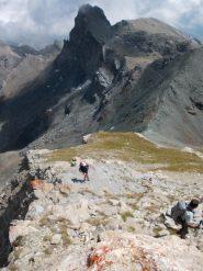dalla cima verso il Col de la Noire