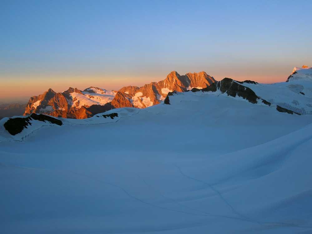 tramonto sullo schrekhorn