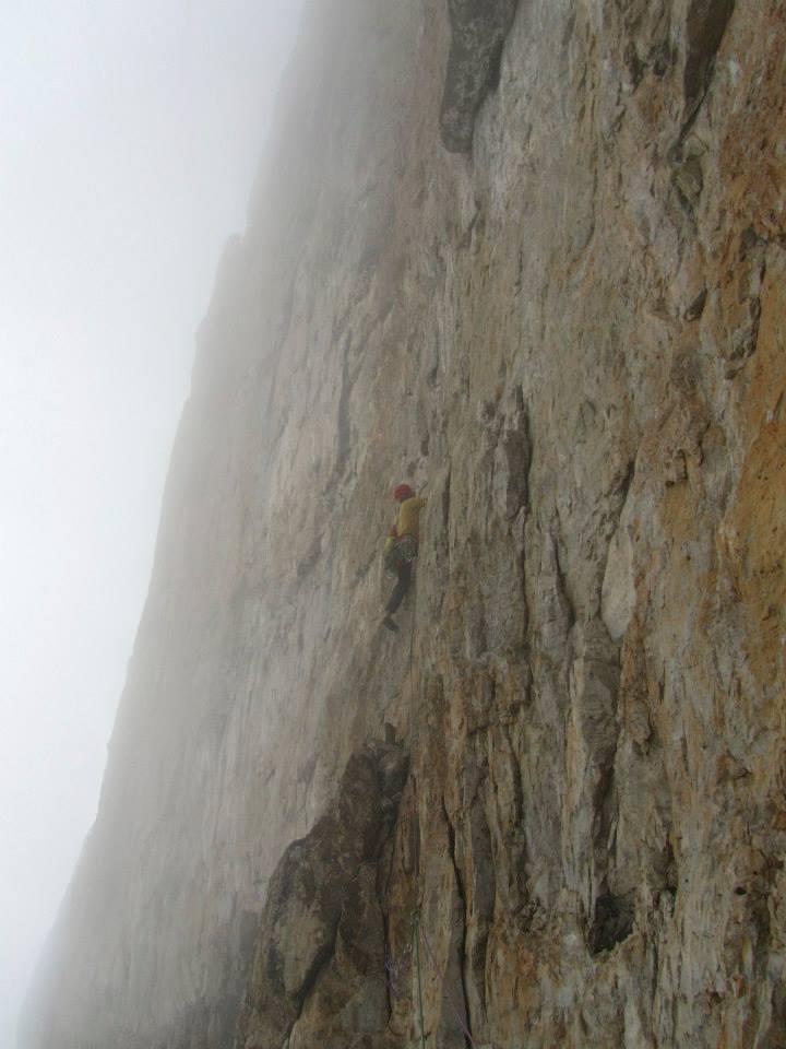 L2 (VI/A2) su roccia dubbia...