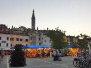 Di sera a Rovigno