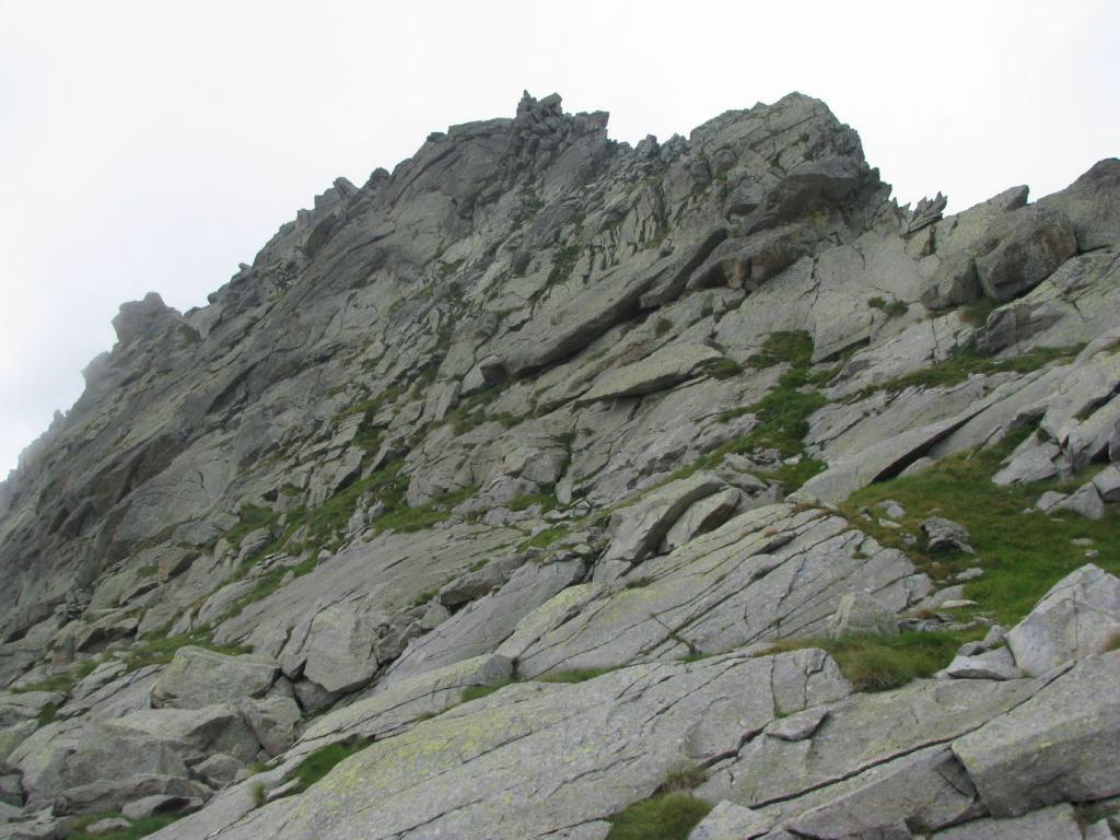 Quota 2626 di Cresta Testona, dal versante nord