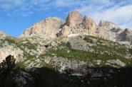 Piz delle Conturines visto dal Col de Locia (8-9-2013)