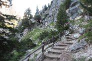 salendo verso il Col de Locia (8-9-2013)