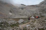 Il Lago delle Conturines...completamente prosciugato! (8-9-2013)