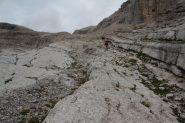 alcuni lastroni della parte alta del vallone seguito (8-9-2013)