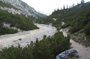il valloncello che porta verso il Passo Tadega (8-9-2013)
