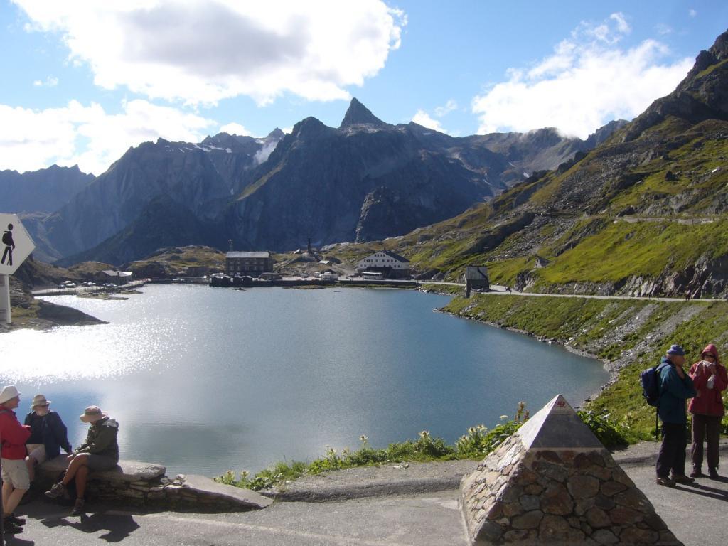 Gran San Bernardo (Colle del) da Aosta 2013-09-09
