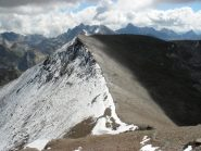 la cresta dalla nord