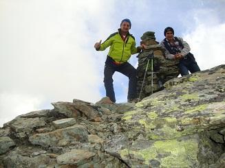 Uomo Storto (Punta dell') da Alagna per la Cresta NO 2013-09-11