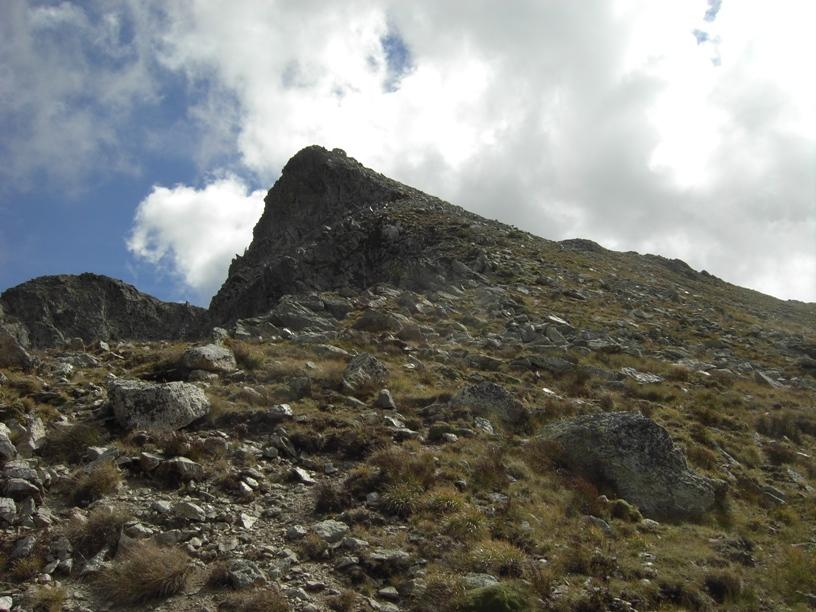 4.Cresta ovest e vetta.